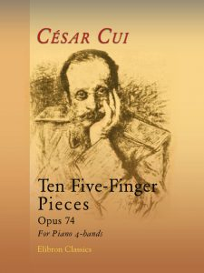 Ten Five-Finger Pieces, op. 74. For Piano 4-hands